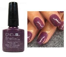 CND Shellac *NORDIC LIGHTS* Deep Purple Glitter UV Gel Power Polish Nail Color