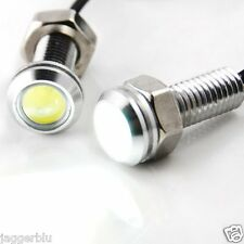 2 x Pannocchia SMD Eagle Angel Eyes Drl Smd Drl Luce Laterale Luce Xenon Bianco Impermeabile