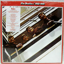 "NEW & Sealed! The Beatles ""1962-1966"" Double LP Vinyl Record Set (Red) Free Ship"