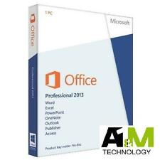 Microsoft Office 2013 Pro Plus 32/64 Bit - Licencia Digital - Spanish Or English
