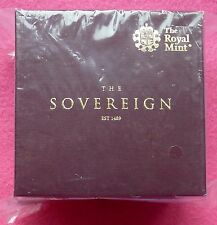 2017  FULL GOLD SOVEREIGN PROOF COIN  BOX AND COA -NEW AND SEALED