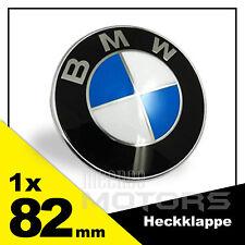 BMW Emblem Neu 2pin 82mm Heckklappe 1er 2er 3er 4er 5er 6er 7er X3 X5 Badge Logo