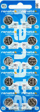 10 pc 381 Renata Watch Batteries SR1120SW FREE SHIP 0% MERCURY