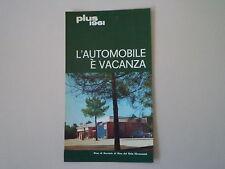 advertising Pubblicità 1961 ESSO e STAZIONE DI SERVIZIO RIVA DEL SOLE  (GROSSETO