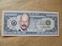 1  X  BRUCE  WILLIS   NOVELTY  $1 MILLION  DOLLAR  NOTE.