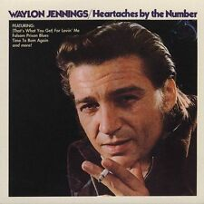 """WAYLON JENNINGS, CD """"HEARTACHES BY THE NUMBER"""" NEW SEALED"""
