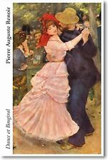 Pierre Auguste Renoir - Dance at Bougival 1883  NEW French Fine Art Print POSTER