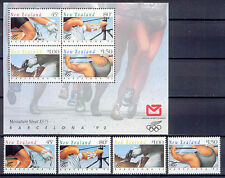 Olympiade 1992, Olympic Games - Neuseeland - 1226-1229, Bl.32 ** MNH