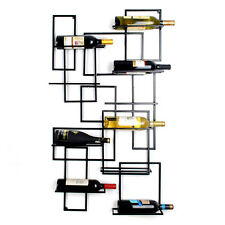 Luxury Wine Rack Glass Champagne Bottle Holder Iron Display Storage Wall Mounted