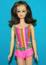 Vintage Barbie ORIGINAL Twist n Turn FRANCIE Brunette TNT Japan in OSS Swimsuit