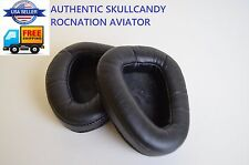 Authentic Skullcandy Rocnation Aviator BLACK Replacement Cushions Ear muffs Pads