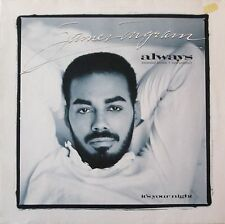 "James Ingram - Always: 2 Versions (12"" Qwest-Records Maxi-Single Germany 1988)"