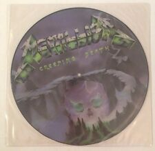 METALLICA CREEPING DEATH PICTURE DISC 1st Uk Pressing P12 KUT 112 Import