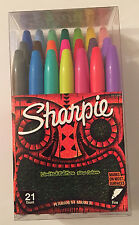 Sharpie Permanent Marker 21 Ct. Limited Edition Assorted Fine Point Markers