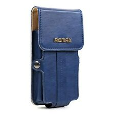 Leather Pouch for iPhone 5s 5c 5 4s 4 Blue