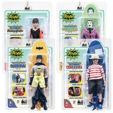 Batman 66 Classic TV Show Mego Style 8 Inch Figures Surfing Series: Set of all 4