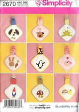 Inhabituel baby binky couvertures différentes appliques sewing pattern