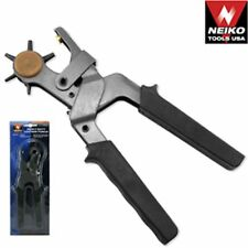Heavy Duty Leather Hole Punch Plier Belt Hole Punches Leathercraft Arts Tools