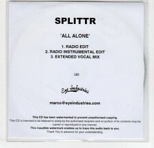 (EF384) Splitter, All Alone - DJ CD
