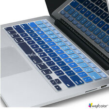 "Silicone Keyboard Skin Cover For Apple MacbookPro Air Mac Retina 13"" 15"" 17"" BLG"