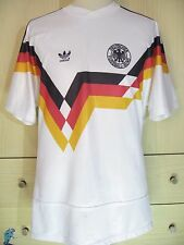 GERMANY WORLD CUP 1990 VINTAGE DEUTSCHLAND FOOTBALL TRIKOT SOCCER JERSEY SHIRT L