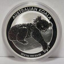 2012 Australia Koala 1 Troy Oz .999 Silver Coin - WFC JT754