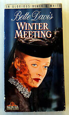 Winter Meeting ~ RARE OOP Classic B&W Bette Davis VHS Movie ~ Video Tape