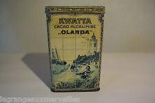Ancienne boite métallique Kwatta Olanda