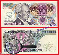 POLONIA POLAND 2000000 Zlotych 1992 ERROR  Pick 158a   SC /  UNC