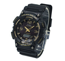 -Casio AQS810W-1A3 Analog Digital Tough Solar Watch Brand New & 100% Authentic