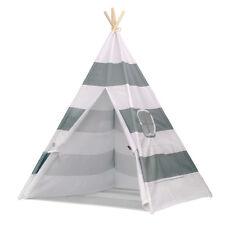 Children Kids Teepee Tipi Play Tent Indoor/Outdoor Playhouse w/Bottom UK STOCK