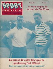 1957 Canadian Hockey Magazine - Gordie Howe & Jean Beliveau Cover