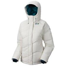 New Mountain Hardwear Snowdeo Down Coat 650 Down Jacket Women's White Large $325