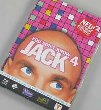 You don't dont know Jack  4 IV PC Deutsch von Jellyvision komplett mit Hanbuch
