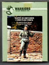WARRIORS SCALE MODELS 35087 - WAFFEN SS GRENADIERS CAMOUFLAGE - 1/35 RESIN KIT