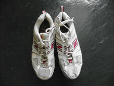 NEW BALANCE N 716 LOCK BREAST CANCER ATHLETIC SHOES PINK & WHITE WOMENS SIZE 10