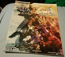 FINAL FANTASY TACTICS THE WAR OF THE LIONS STRATEGY GUIDE BOOK RARE BRAND NEW