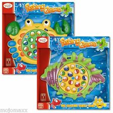 Toyrific Kids Fishing Game Childrens Rotating Fun Catch Fish Game Toy Family Fun