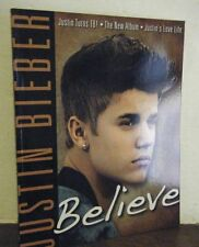 """JUSTIN BIEBER - """"BELIEVE""""  About 100 full color Photos! Brand New"""