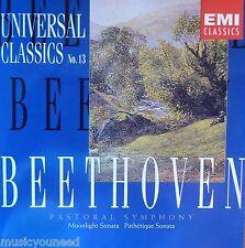 EMI Universal Classics No. 13 Beethoven Pastoral Symphony; Moonlight Sonata