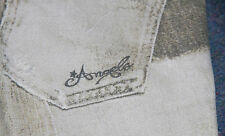 GIRLS ROBERTO CAVALLI ANGELS WHITE GREY JEANS AGE 6 VERY SPECIAL & RARE d&g L@@K