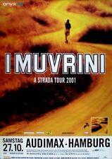 I MUVRINI - 2001 - Konzertplakat - A Strada - Tourposter - Hamburg