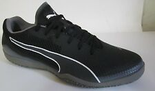 Puma Invicto Fresh Black Indoor Soccer Men Shoes 10