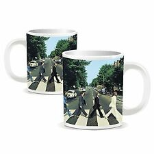 The Beatles Abbey Road Mini Mug Image White Boxed Fan Gift Espresso Coffee Cup