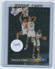 Shaquille O'Neal 1992-1993 92-93 Upper Deck TRADE Rookie Card #1b