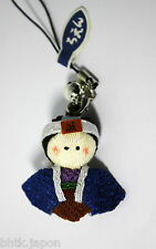 Phone strap - Petit samouraï (textile) - Made in Japan