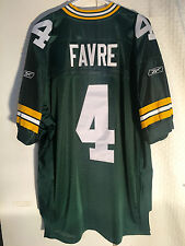 Reebok Authentic NFL Jersey Packers Brett  Favre  Green sz 52