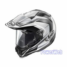 NEW IN BOX ARAI TOUR CROSS 3 FLARE SILVER 59-60cm L Large HELMET MADE IN JAPAN