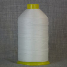 BONDED NYLON SEWING THREAD 40s 3,500metre WHITE 40 TKT LEATHER UPHOLSTERY REPAIR