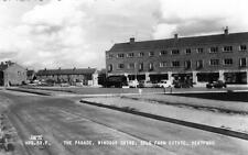 Hertford Parade Windsor Drive Sele Farm Estate unused RP old postcard by Frith